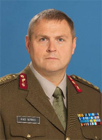 Lieutenant General Riho Terras, Chief of Defence of Estonia