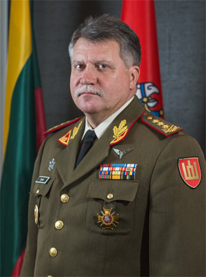 Lieutenant General Jonas Vytautas Žukas, Chief of Defence of Lithuania