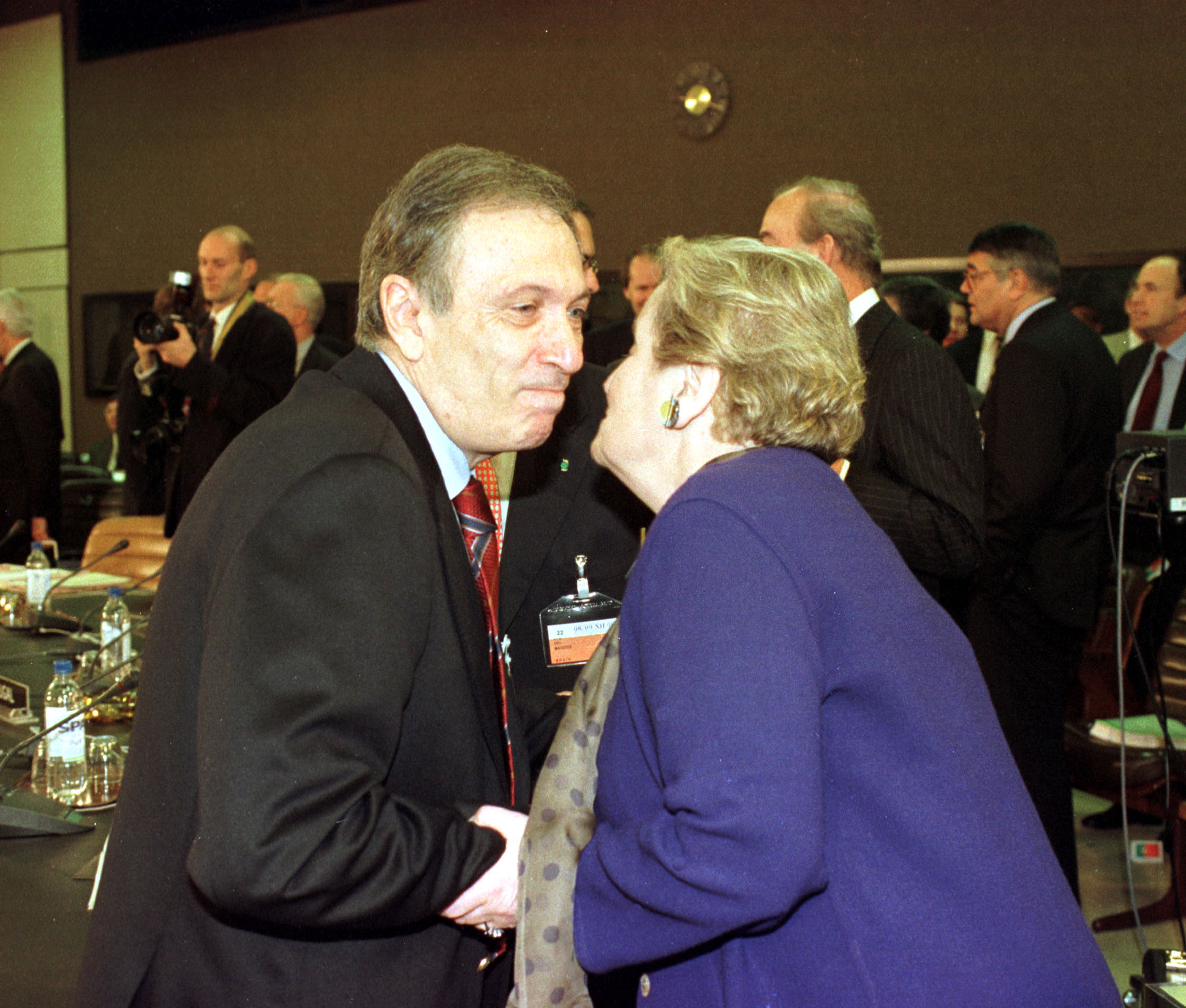 Nato Ministerial Meeting Brussels 8 9 December 1998