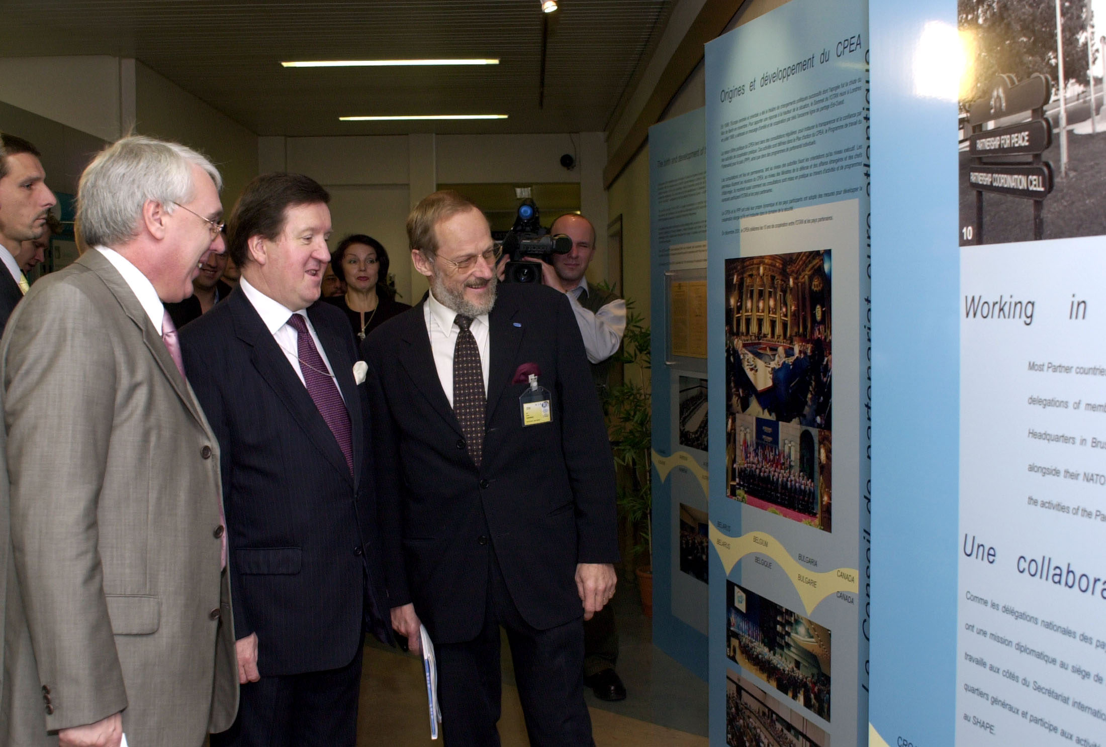 NATO Media Library: Opening of a commemorative exhibition on