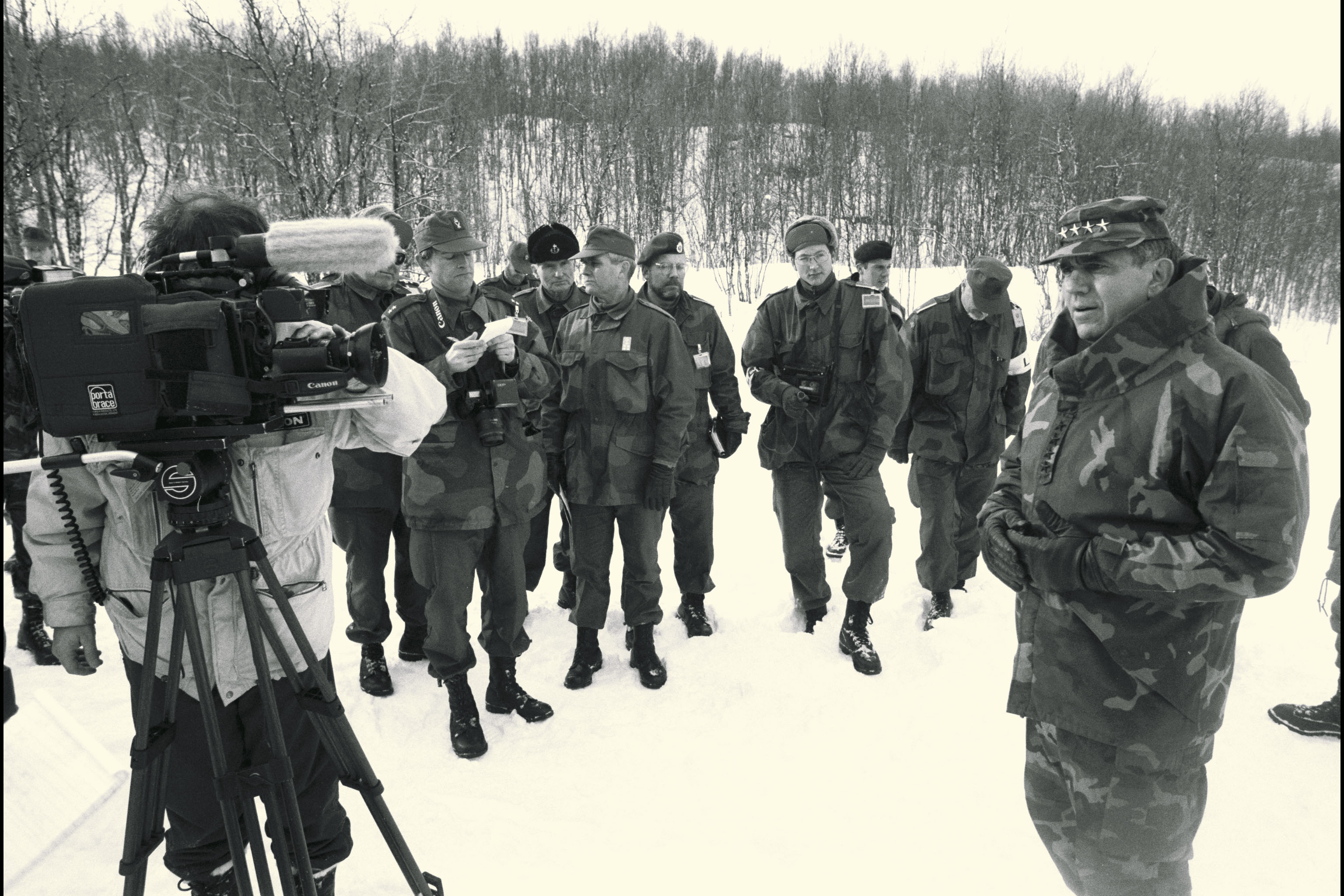 NATO Media Library: ARCTIC EXPRESS Exercise - 14 March 1994