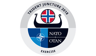 Trident Juncture 2018 high-resolution logo